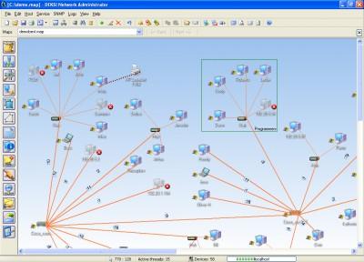 DEKSI Network Administrator 8.7 screenshot