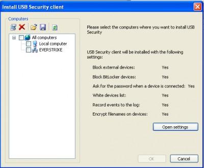DEKSI USB Security 2.31 screenshot