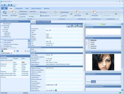 delight address Freeware 6.0 screenshot