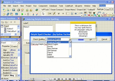 Delphi Spell Checker 1.22 screenshot