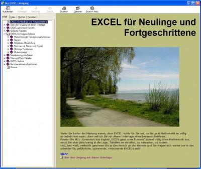 Der Excel Lehrgang 2.0 screenshot