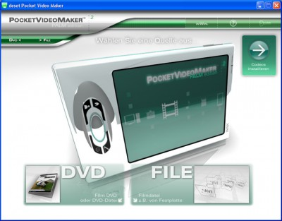 deset Pocket Video Maker - Palm Edition 2.0 screenshot