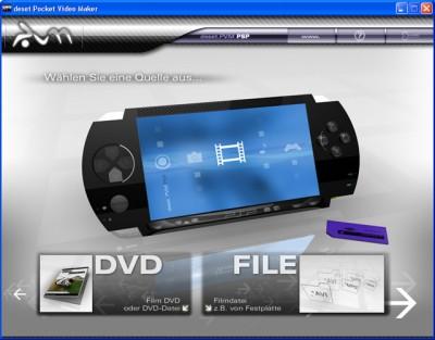 deset Pocket Video Maker - SONY PSP 2.0 screenshot