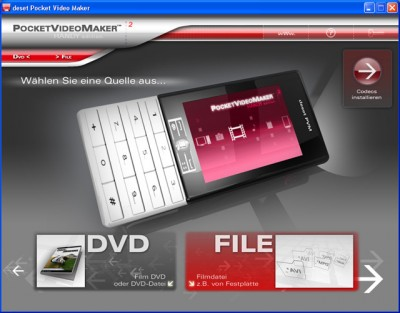 deset Pocket Video Maker Mobile Edition 2.0 screenshot