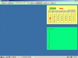 Desktop Calendar 1.0 screenshot