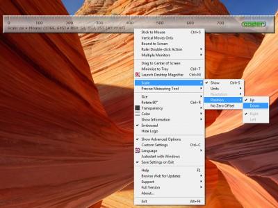 Desktop Ruler 3.30 screenshot