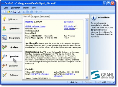 DeuPAD 4.0.0.402 screenshot