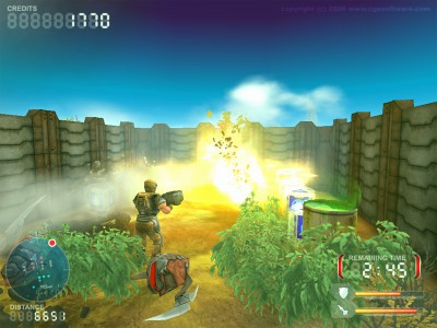DevastationZone Troopers 1.34 screenshot