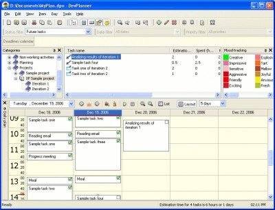 DevPlanner 2.3.59 screenshot