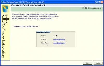 DEWizardX 3.6.3.0 screenshot