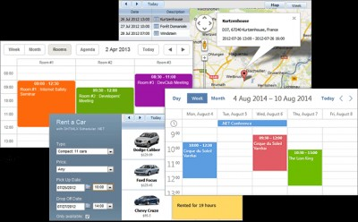 DHTMLX Scheduler .NET 3.3 screenshot