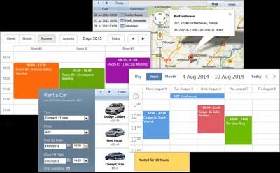 DHTMLX Scheduler .NET 3.3 screenshot