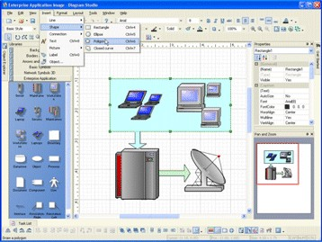 Diagram Studio 5.7 screenshot