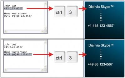 "DialDirectly (for Skypeâ""¢) 1.12.03.08 screenshot"