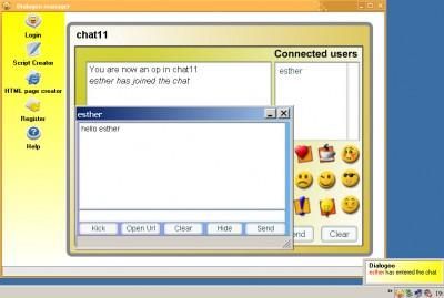 Dialogoo 2.05 screenshot