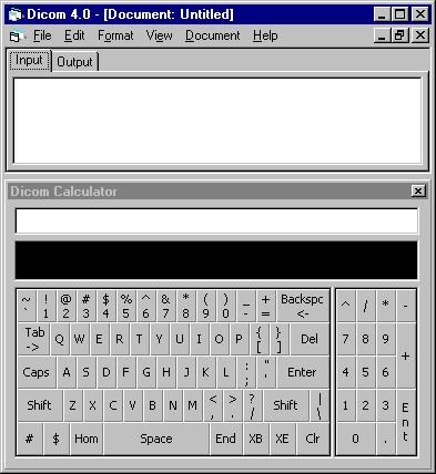 Dicom Unit Aware Calculator 4.0 screenshot