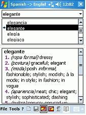Dictionary Spanish German Spanish CE 3.0 screenshot