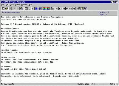 Die Bewerbung Windows Version 2.020429 screenshot
