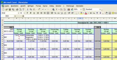 DienstplanUA 3.0 screenshot