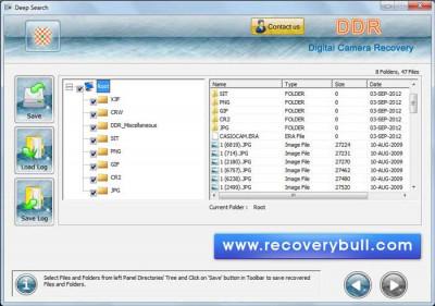 Digital Camera Picture Recovery 3.0.1.5 screenshot