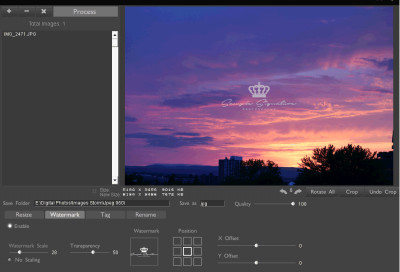 Digital Image Tool 4.11 screenshot