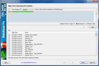 Digital MediaRescue Professional 6.16 screenshot