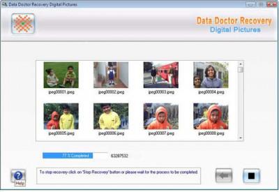 Digital Photo Recovery 3.0.1.5 screenshot