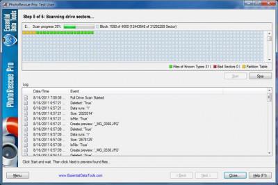 Digital PhotoRescue Professional 6.16 screenshot