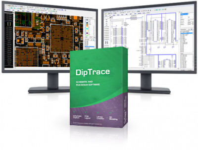 DipTrace 3.3.1.3 screenshot