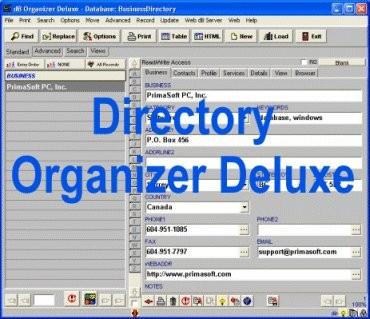 Directory Organizer Deluxe 4.12 screenshot