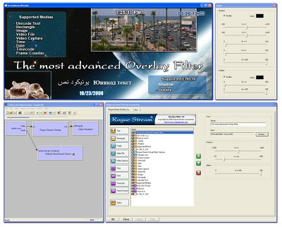 DirectShow Overlay Filter 1.1b screenshot