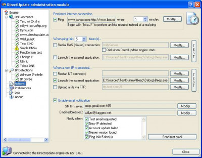 DirectUpdate 4.7.0 screenshot