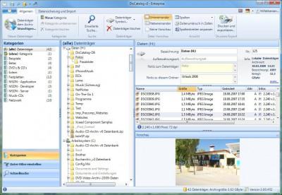 DisCatalog v3 3.00.464 screenshot