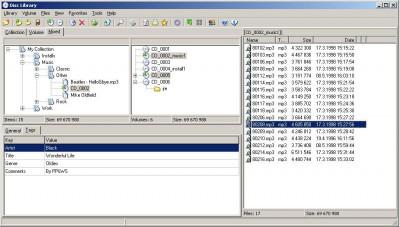 Disclib 2.0.50 screenshot