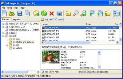 Disk Inspector 3.1 screenshot