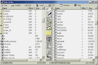 Disk Order 5.10 screenshot