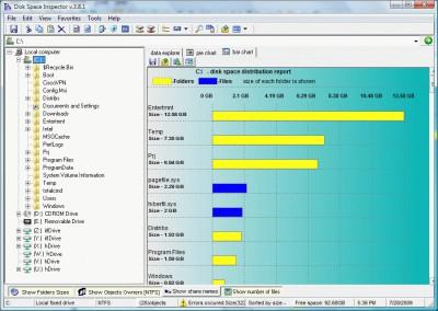 Disk Space Inspector 3.9.3 screenshot
