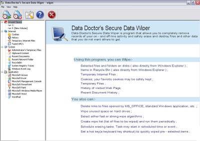 Disk Wiper Software 3.0.1.5 screenshot