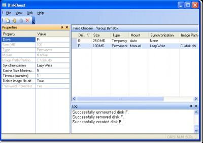 DiskBoost 1.0.1 screenshot