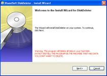 DiskDeleter 1.0.2 screenshot