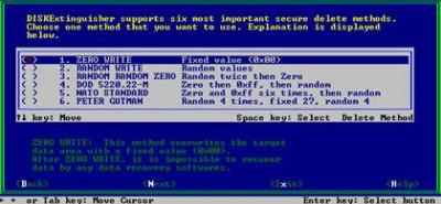 DISKExtinguisher (PC) 3.0 screenshot