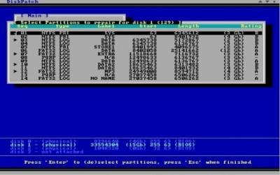 DiskPatch Disk Repair 4.0.300 screenshot