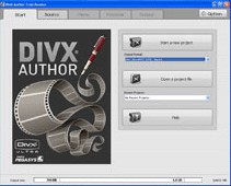 DivX Author 1.5 screenshot