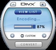 DivX Pro for Mac (incl DivX Player) 6.5 screenshot