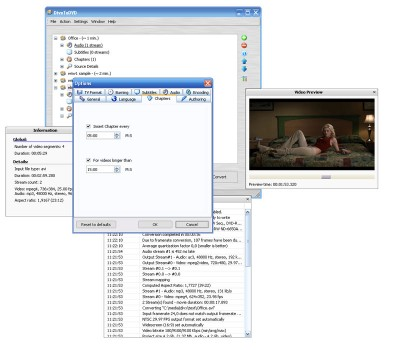 DivXToDVD 2.0 screenshot