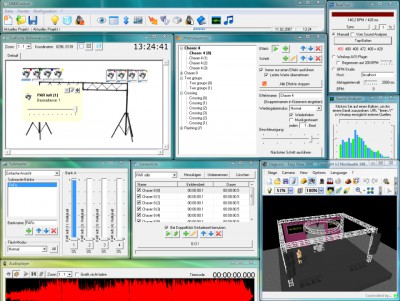 DMXControl 2.12 screenshot