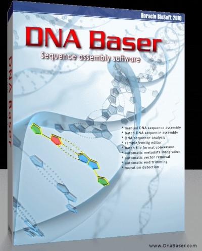 DNA BASER Sequence Assembler 4.36 screenshot