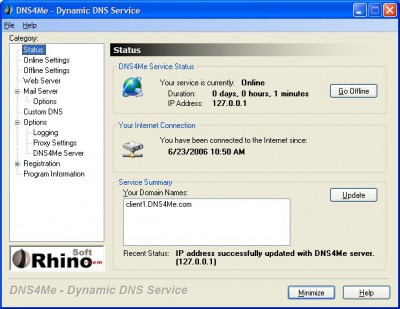 DNS4Me 5.2.0.7 screenshot