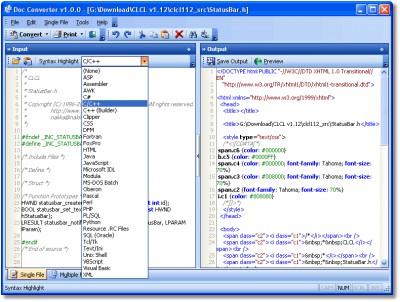 Doc Convertor 1.0.0 screenshot
