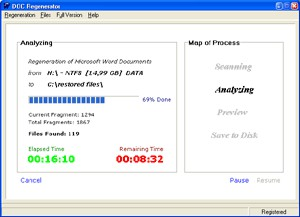 DOC Regenerator 2.11 screenshot